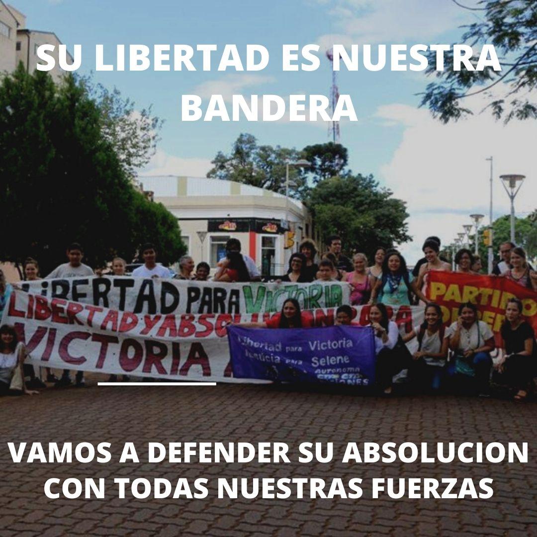 """""""Vamos a defender la absolución con todas nuestras fuerzas"""""""